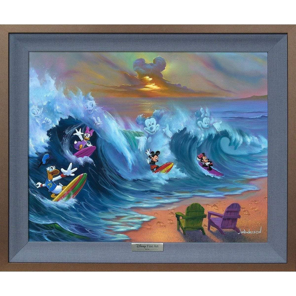 Disney Fine Art Surfing with Friends