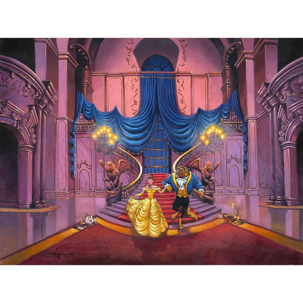 Disney Fine Art Tale As Old As Time