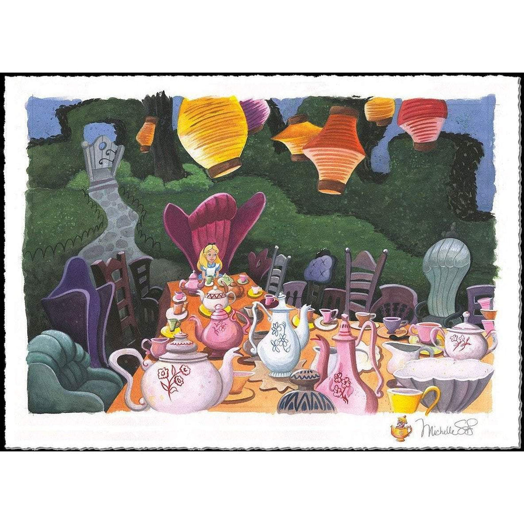 Disney Fine Art Tea with Alice