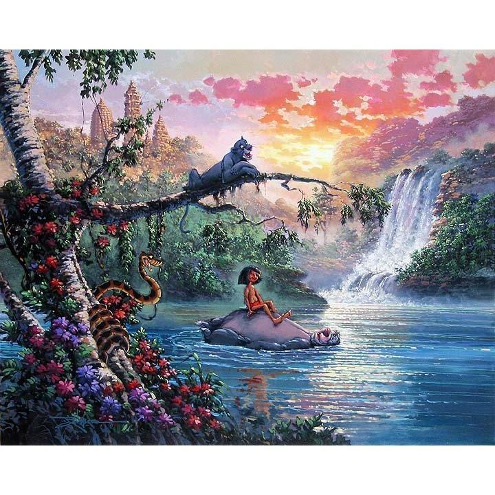 Disney Fine Art The Bear Necessities Of Life