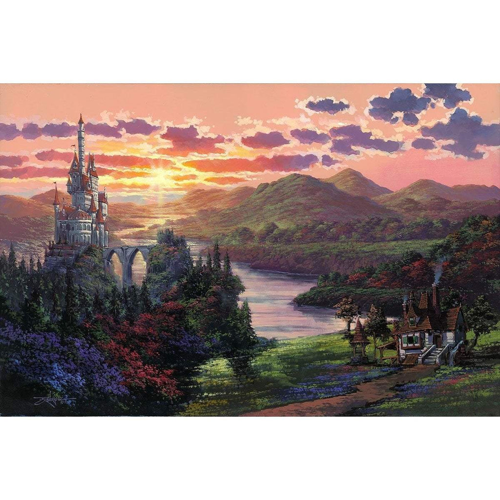 Disney Fine Art The Beauty In Beast's Kingdom