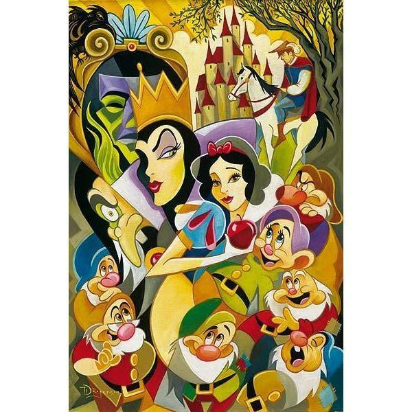 Disney Fine Art The Enchantment Of Snow White