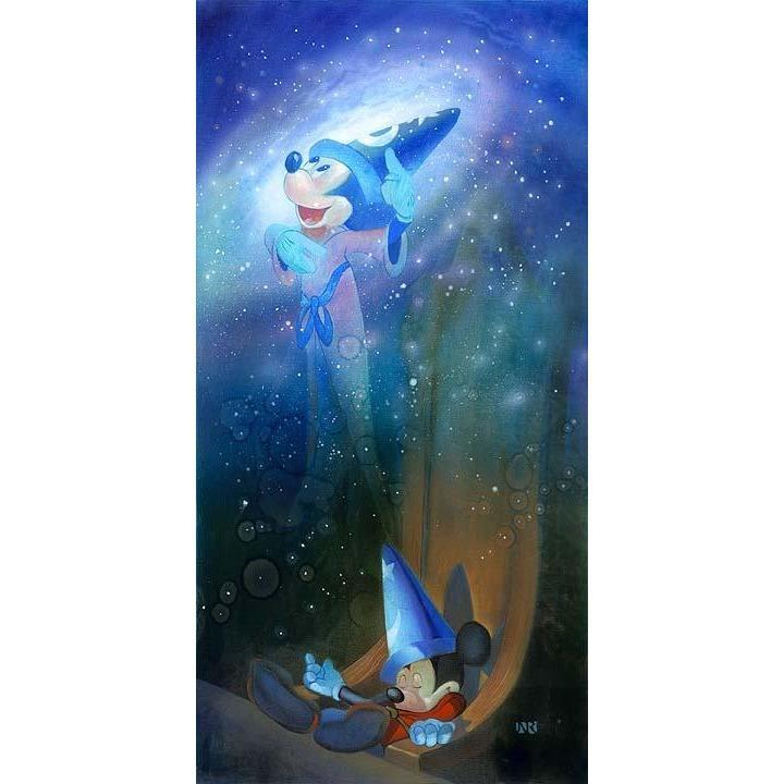Disney Fine Art The Flight To Fantasy