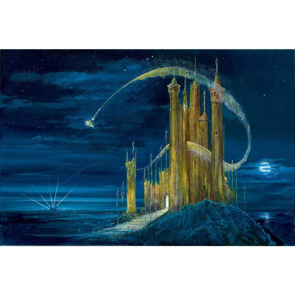 Disney Fine Art The Gold Castle