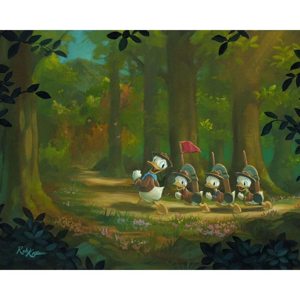 Disney Fine Art The Good Scouts
