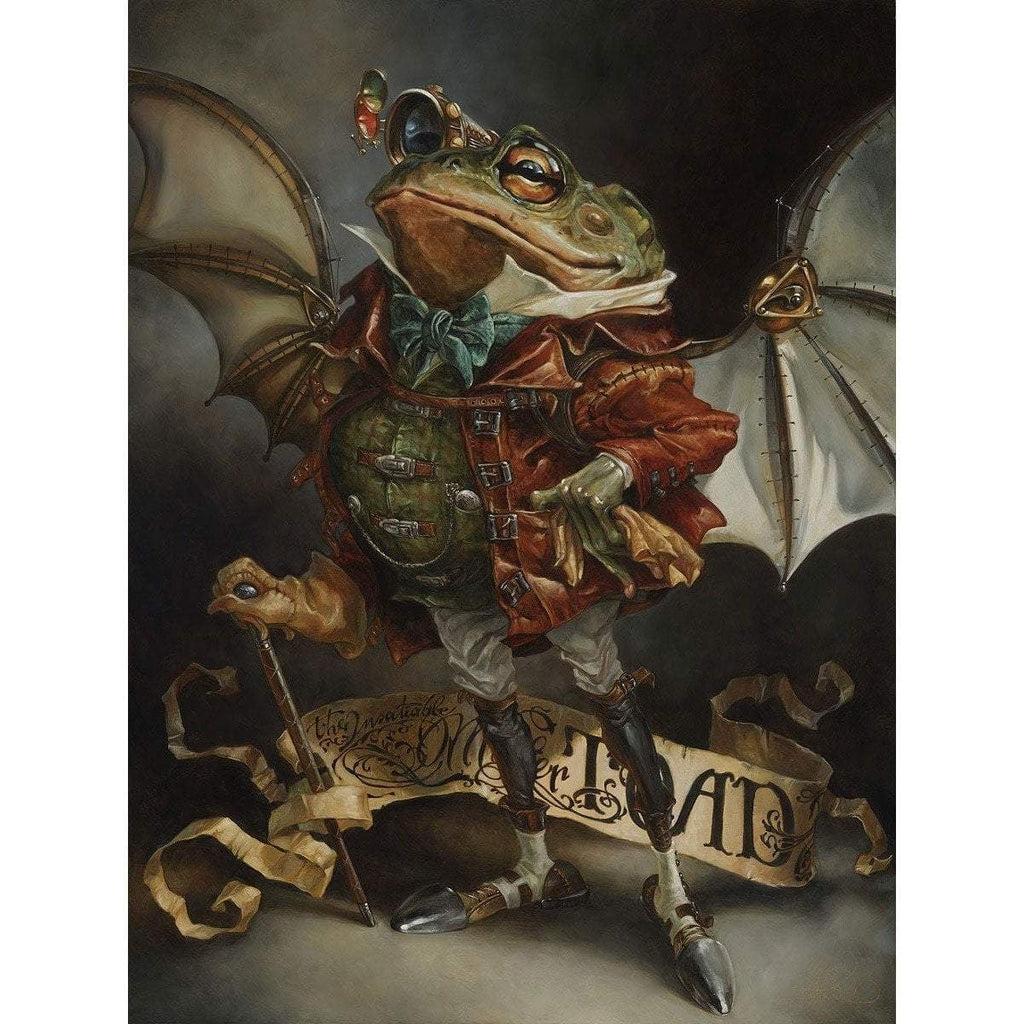 Disney Fine Art The Insatiable Mr Toad