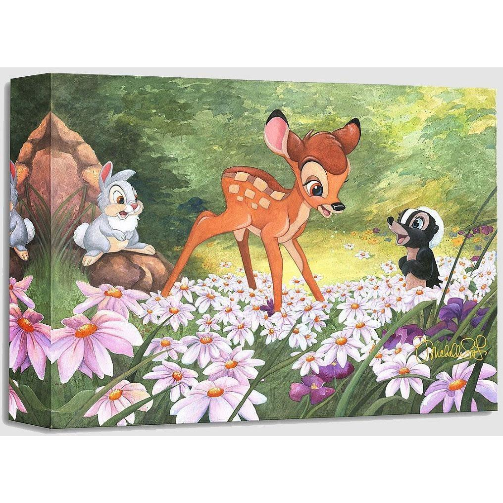 Disney Fine Art The Joy A Flower Brings