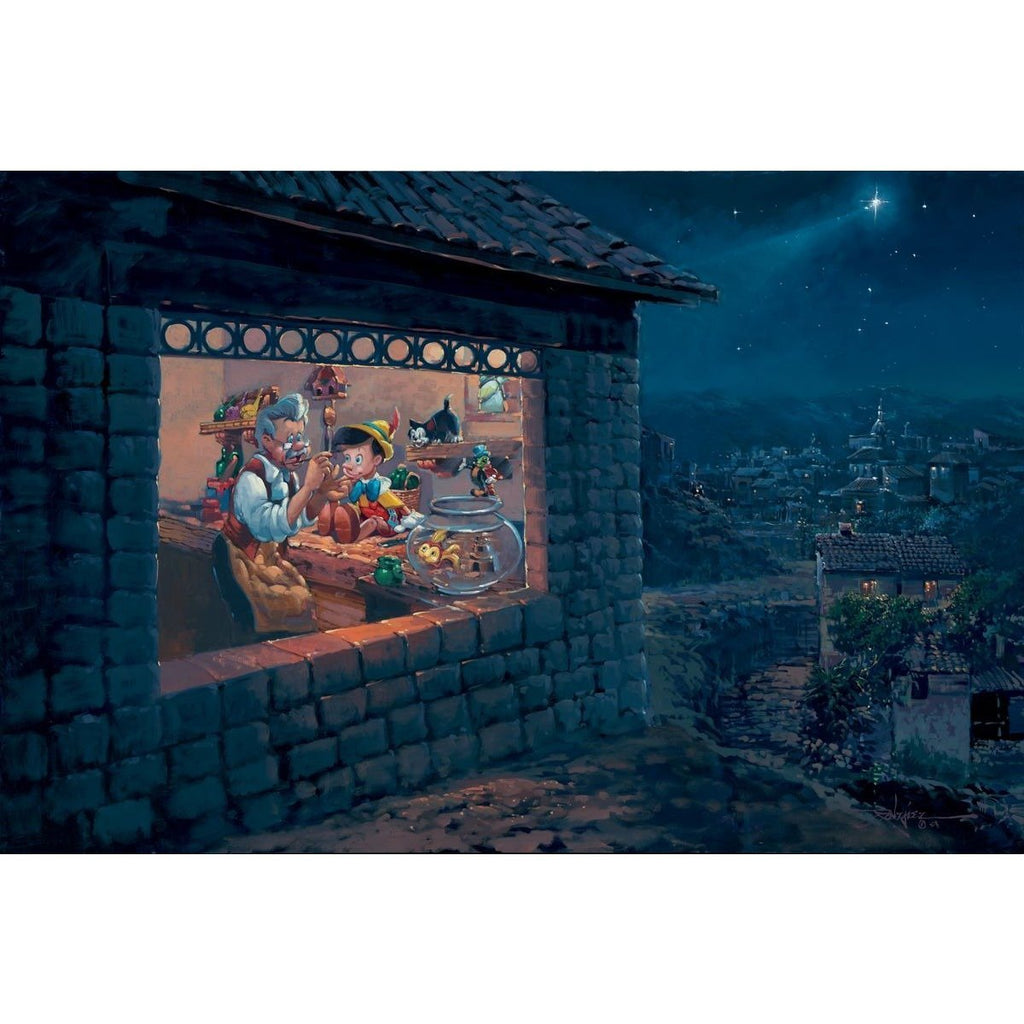 Disney Fine Art The Wishing Star