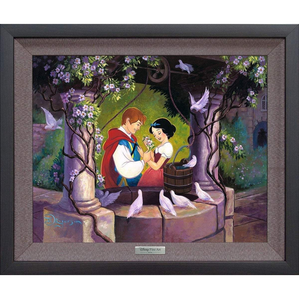 Disney Fine Art The Wishing Well