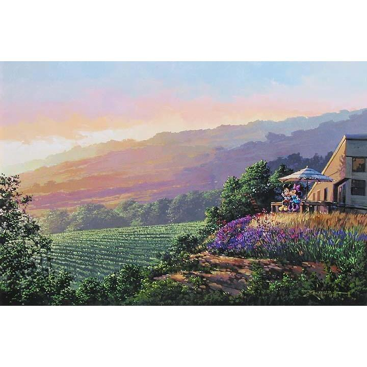 Disney Fine Art Together At The Vineyard