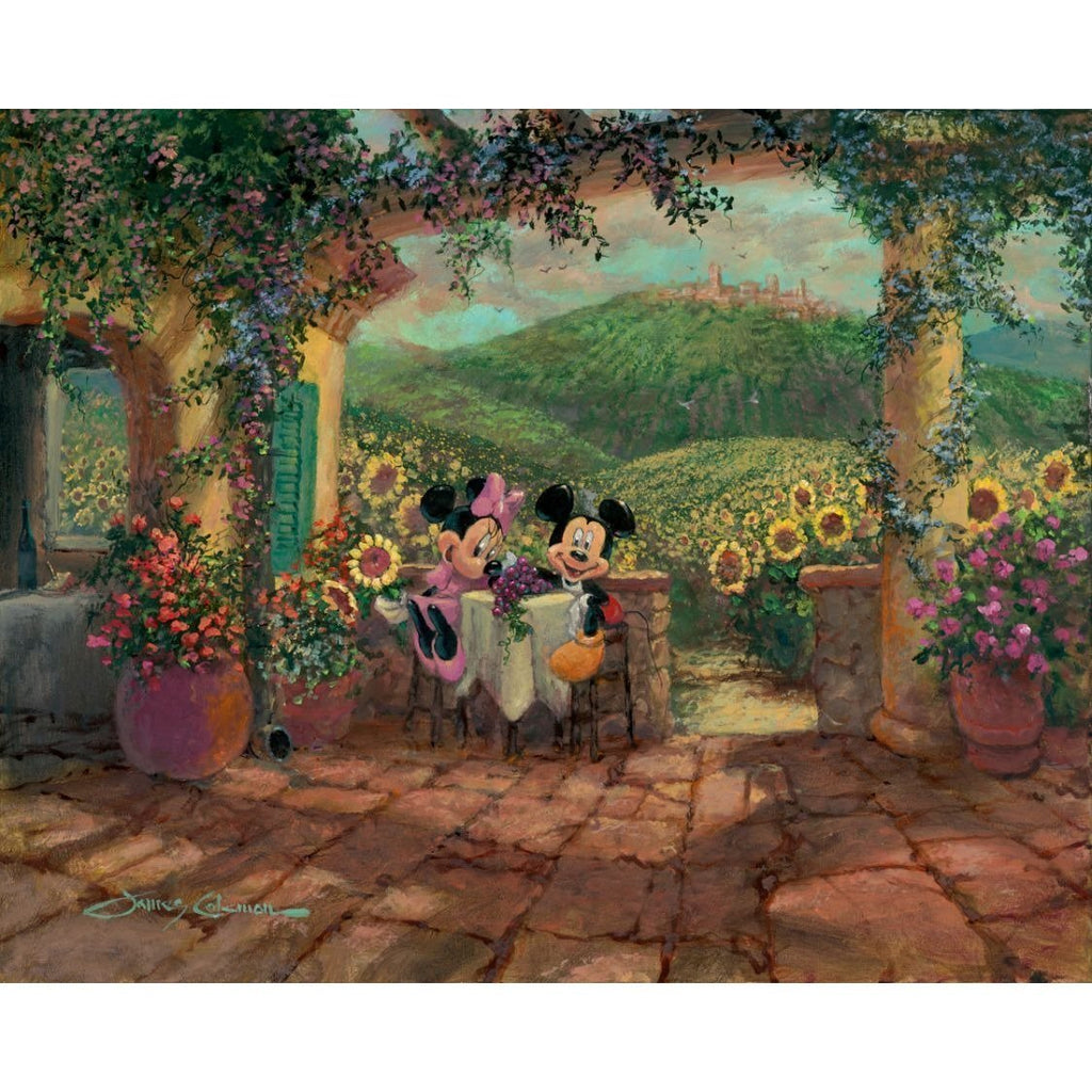 Disney Fine Art Tuscan Love