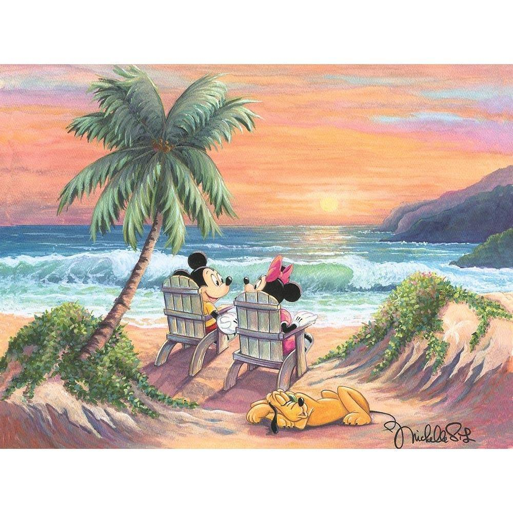 Disney Fine Art Vacation Paradise
