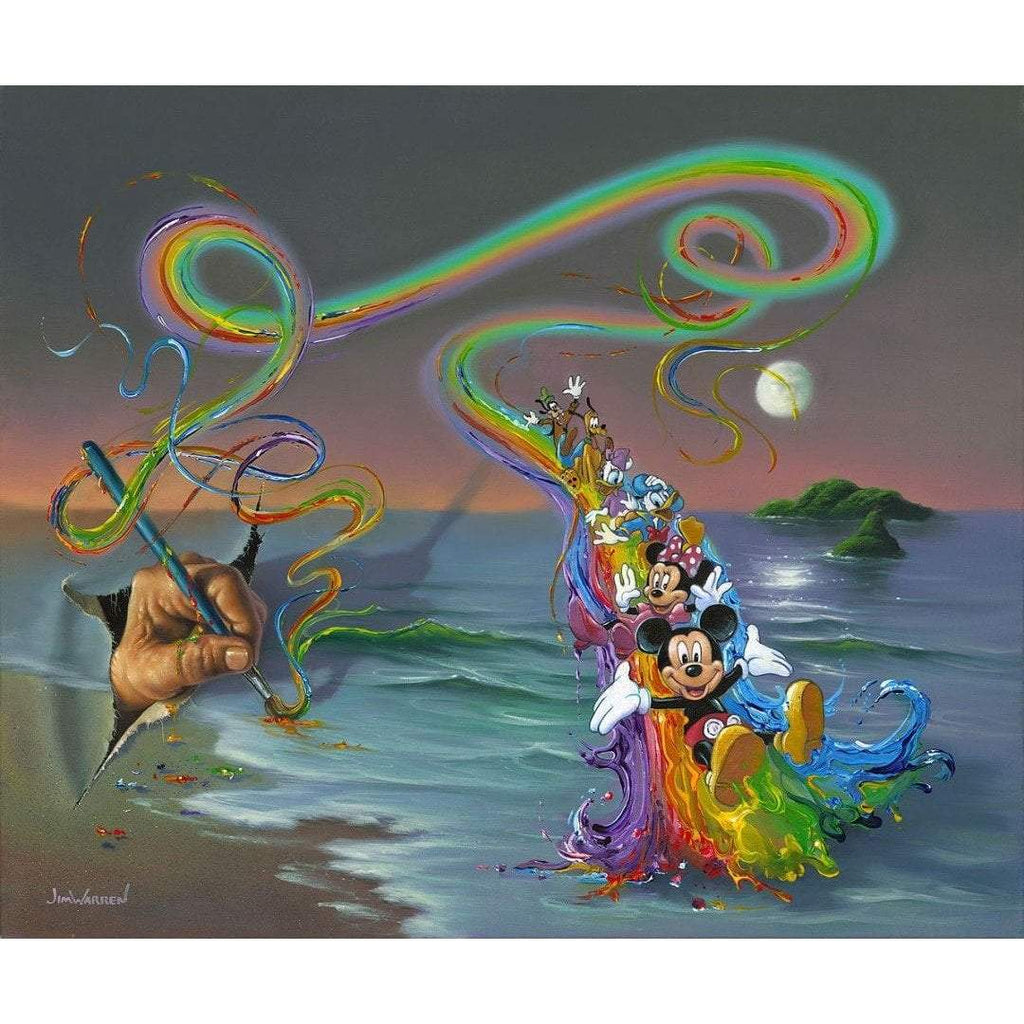 Disney Fine Art Walt's Colorful Creations