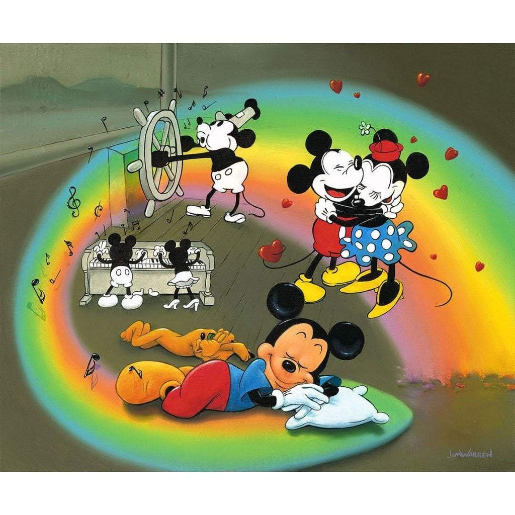 Disney Fine Art What Does Mickey Dream