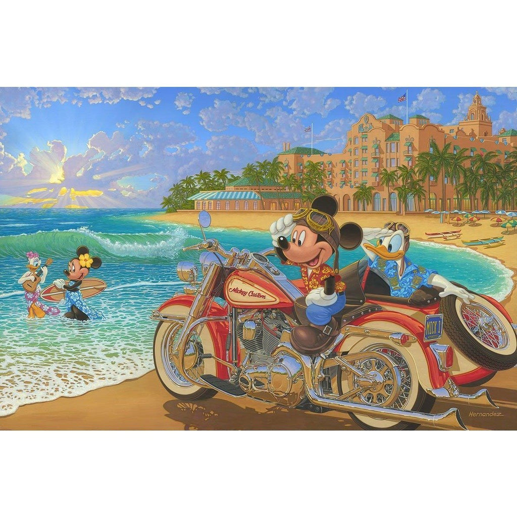 Disney Fine Art Where the Road Meets the Sea Premiere Edition