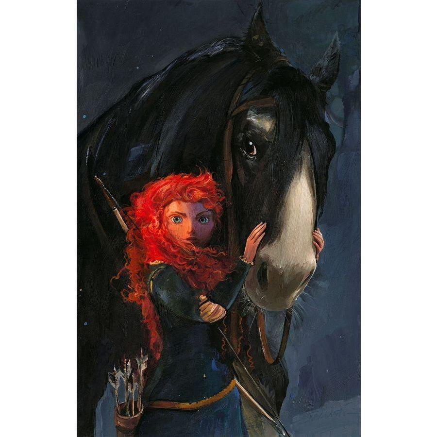 Disney Fine Art Willful Daughter