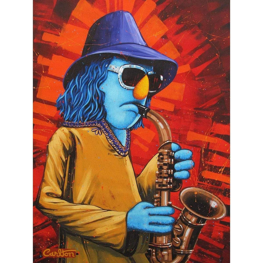 Disney Fine Art Zoot the Sax
