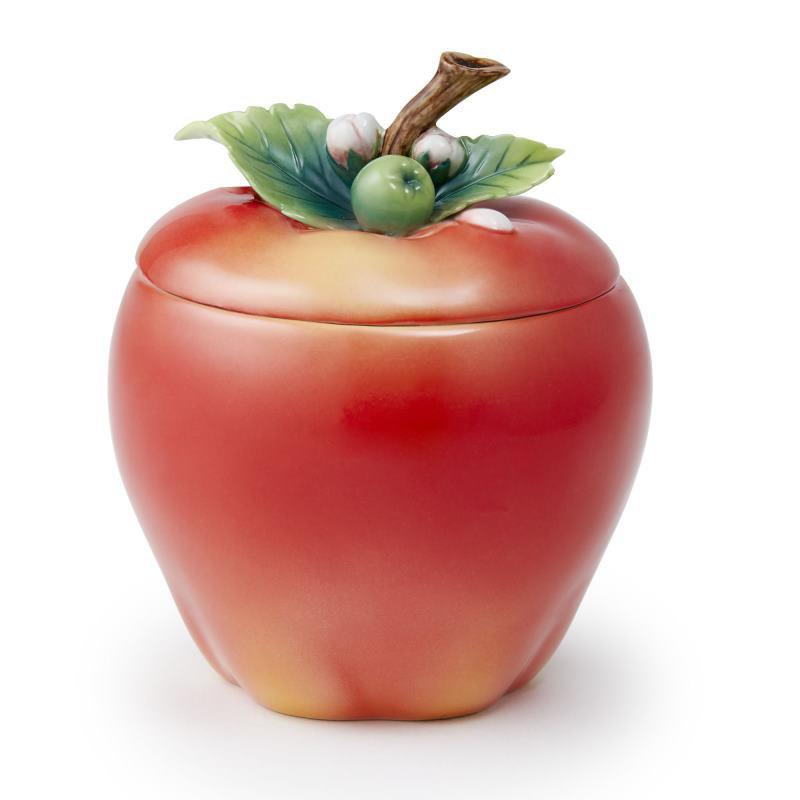 Franz Collection A Peaceful Year Apple Lidded Box FZ03723