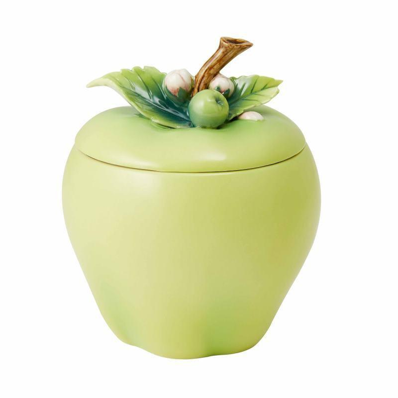 Franz Collection A Peaceful Year Apple Lidded Box FZ03763