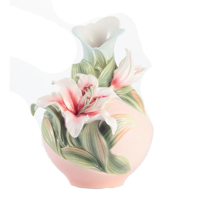 Franz Collection Abundance & Prosperity Lily Medium Vase FZ02926