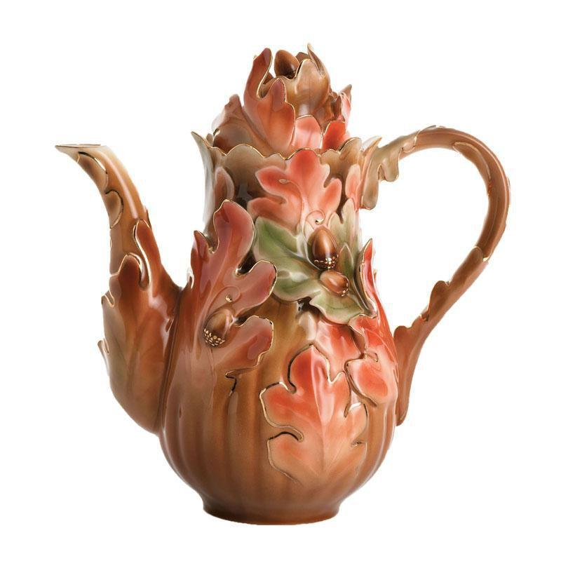 Franz Collection Acorn Teapot FZ01195