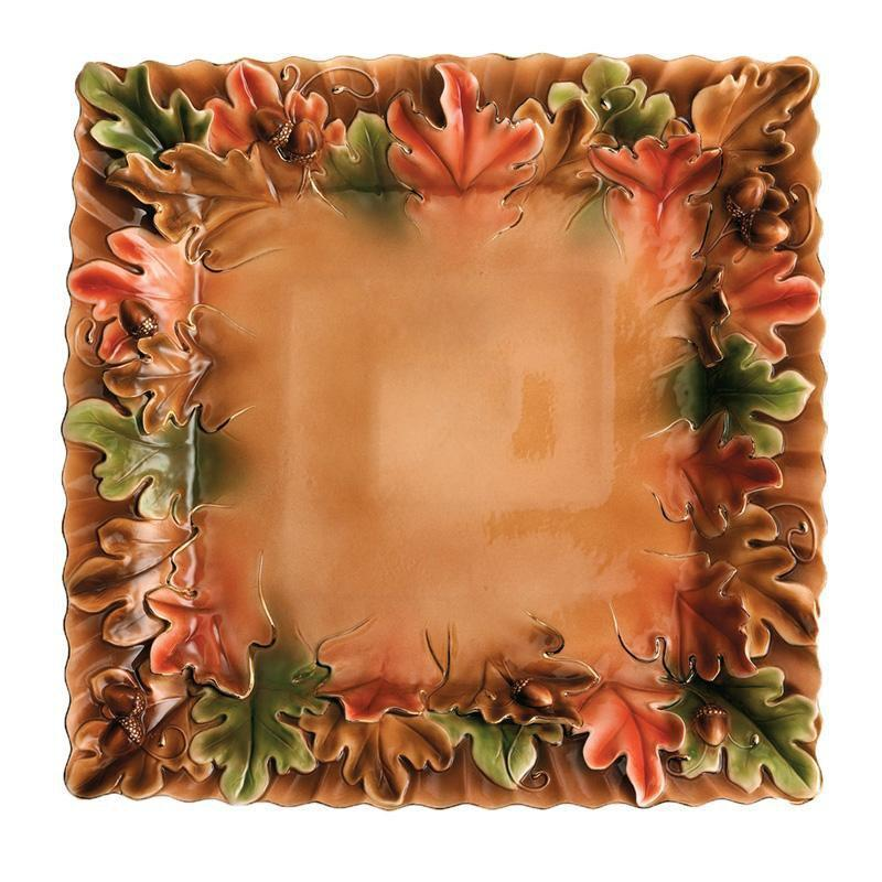 Franz Collection Acorn Tray FZ01196