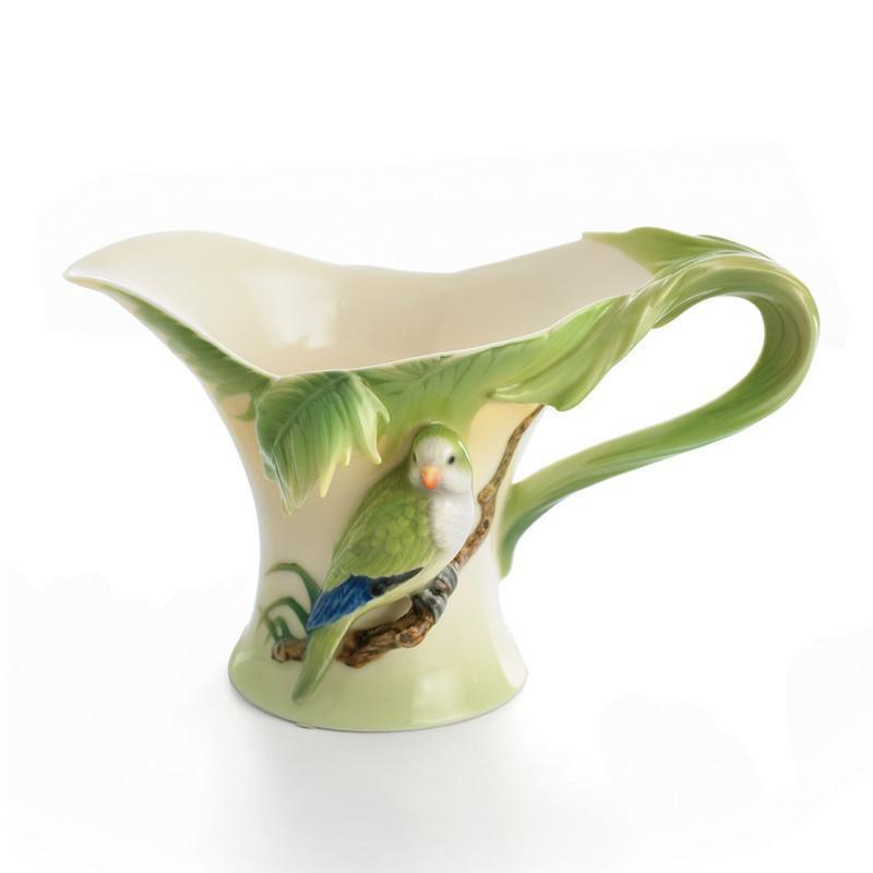 Franz Collection Amazon Rainforest Parrot Creamer FZ00831