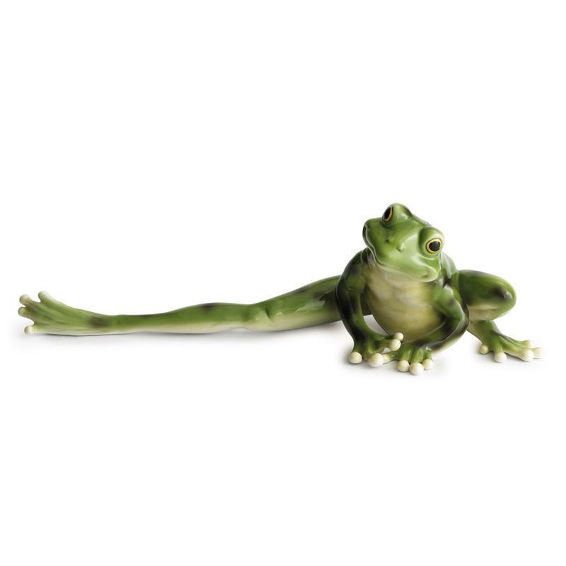 Franz Collection Amphibia Frog Long Legged Figurine FZ00077