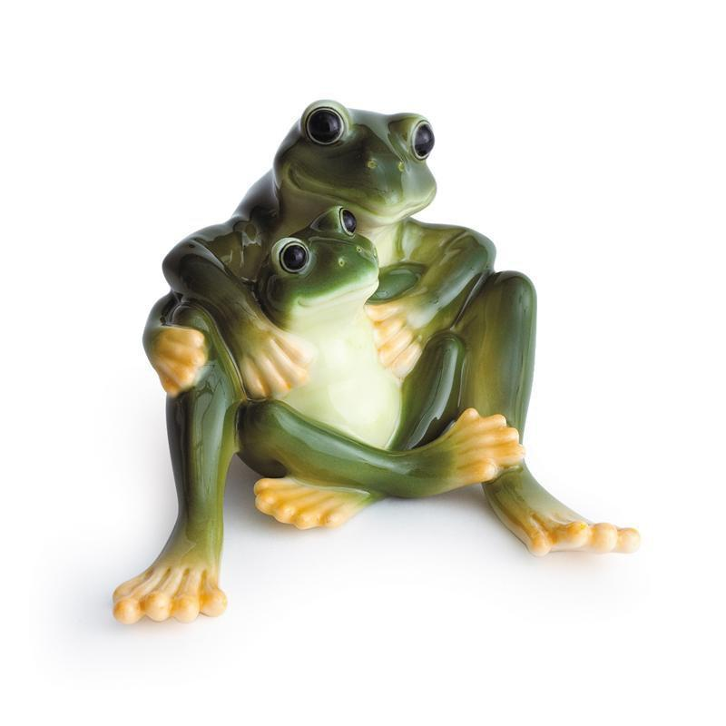 Franz Collection Amphibia Frog Mother Figurine FZ00625