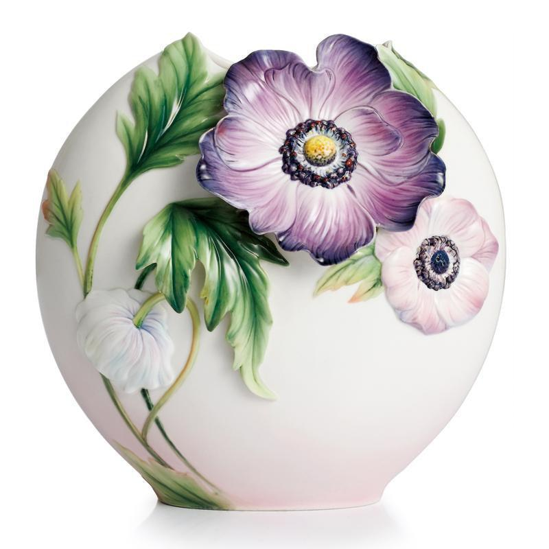 Franz Collection Anemones Vase Medium FZ02297