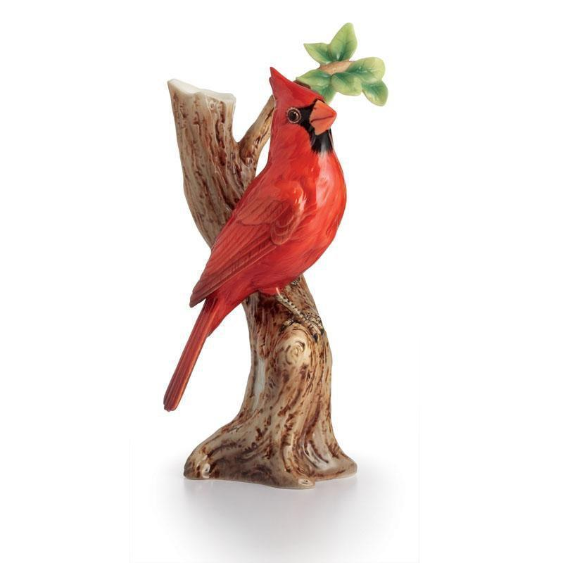 Franz Collection Artist's Palette Cardinal Small  Vase FZ02619