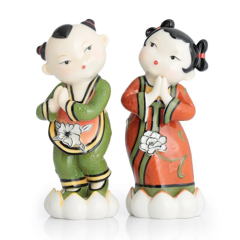 Franz Collection Asian Couple Figurine CP00054