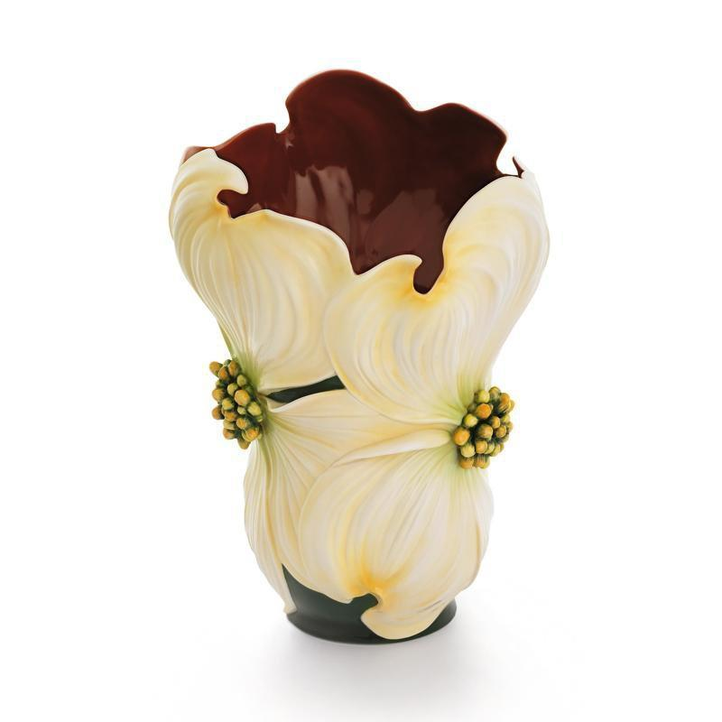 Franz Collection Autumn Memories Dogwood Vase FZ01664