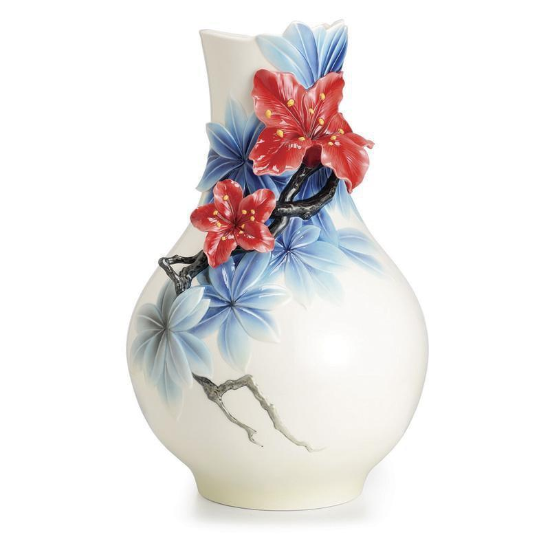 Franz Collection Azalea Flower Large Vase FZ02521