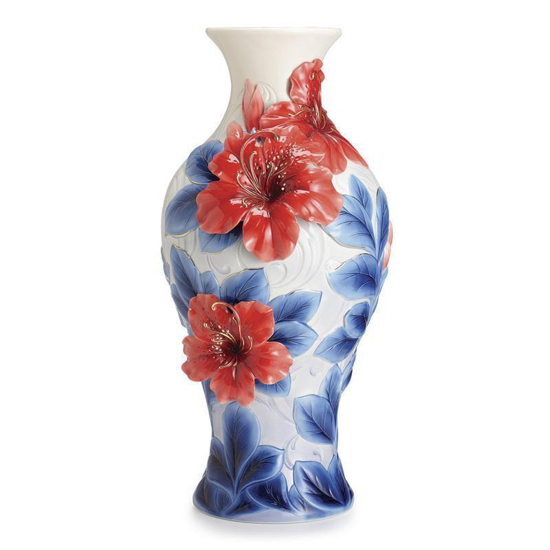 Franz Collection Azalea Flower Large Vase FZ02522