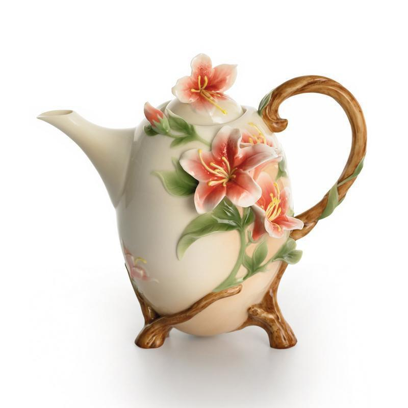 Franz Collection Azalea Teapot FZ01338