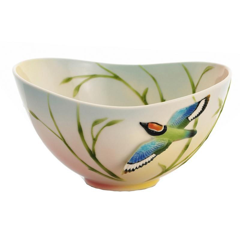 Franz Collection Bamboo Song Bird Bowl FZ01688