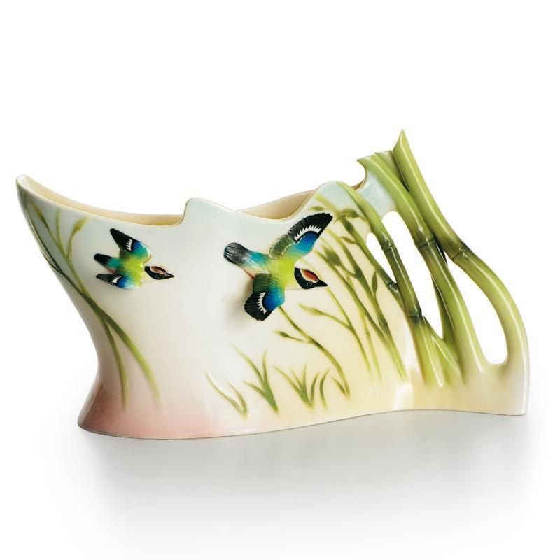 Franz Collection Bamboo Song Bird Vase FZ01128