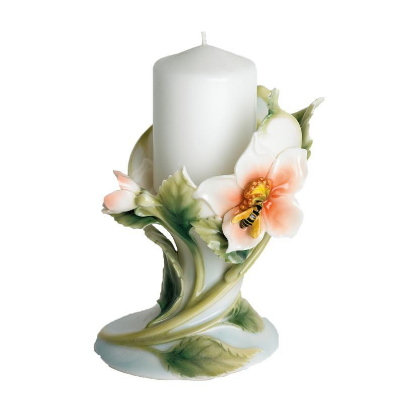 Franz Collection Bee & Apple Candleholder FZ00445