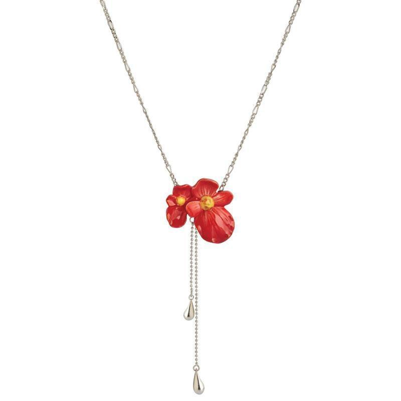 Franz Collection Begonia Necklace FJ00279