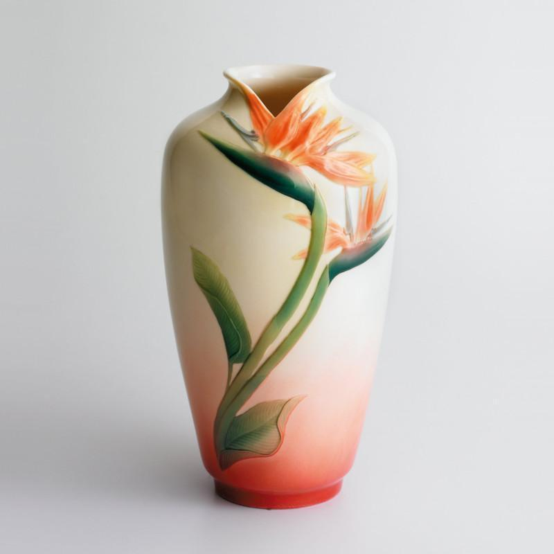 Franz Collection Bird Of Paradise Vase FZ00065