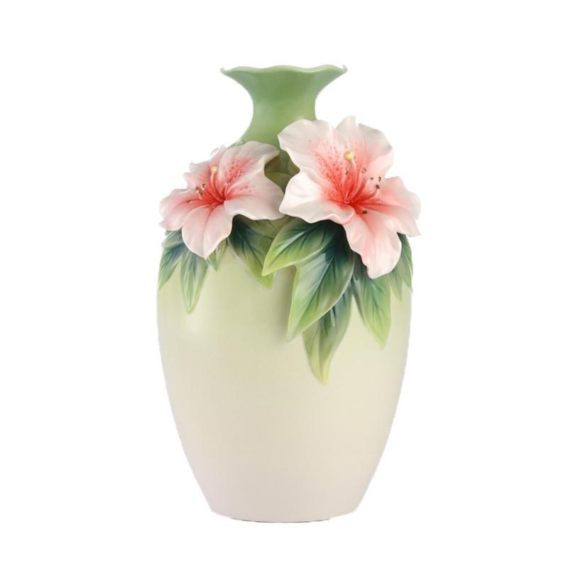 Franz Collection Blooms Of Delight Azalea Vase FZ03136