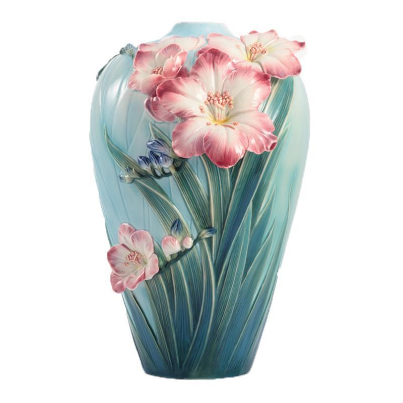 Franz Collection Blossoming Freesia Large Vase FZ02933