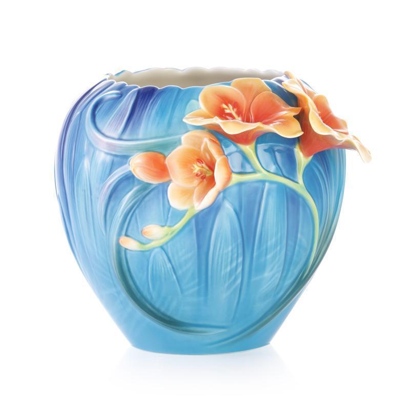Franz Collection Bright & Brilliant Freesia Vase FZ03356