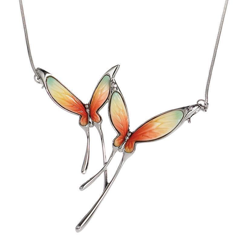 Franz Collection Butterfly Necklace FJ00049