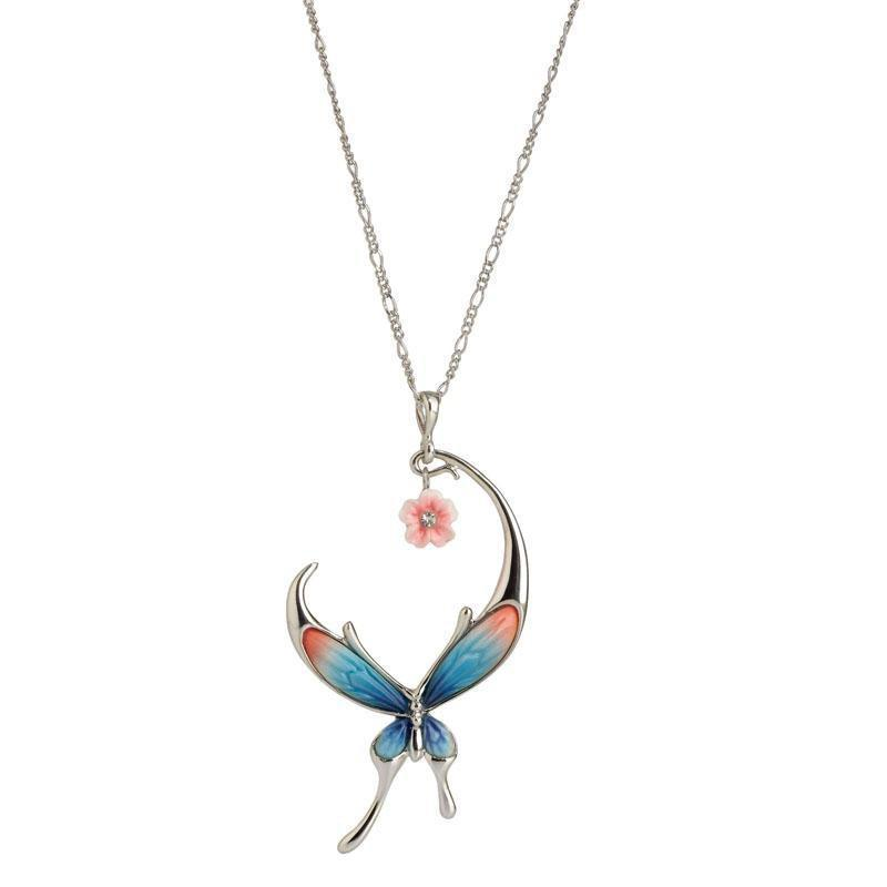 Franz Collection Butterfly Necklace FJ00282