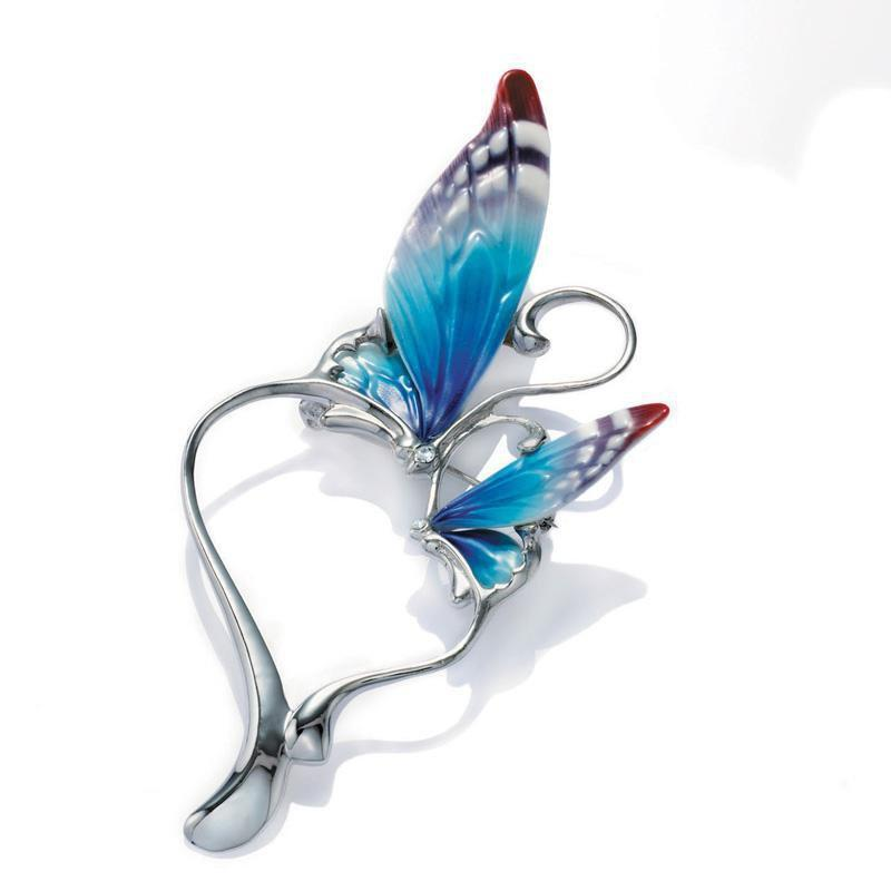 Franz Collection Butterfly Pin FJ00008