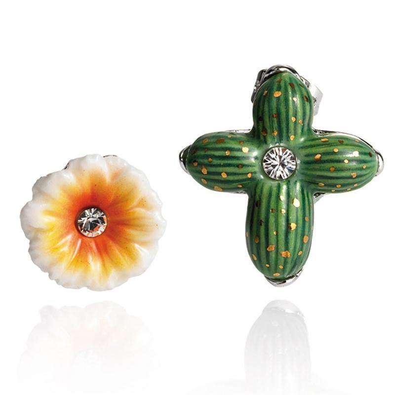 Franz Collection Cactus Flower Earrings FJ00191