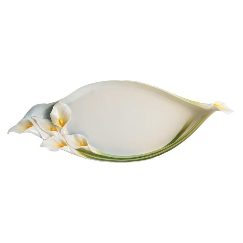 Franz Collection Calla Lily Tray FZ00674