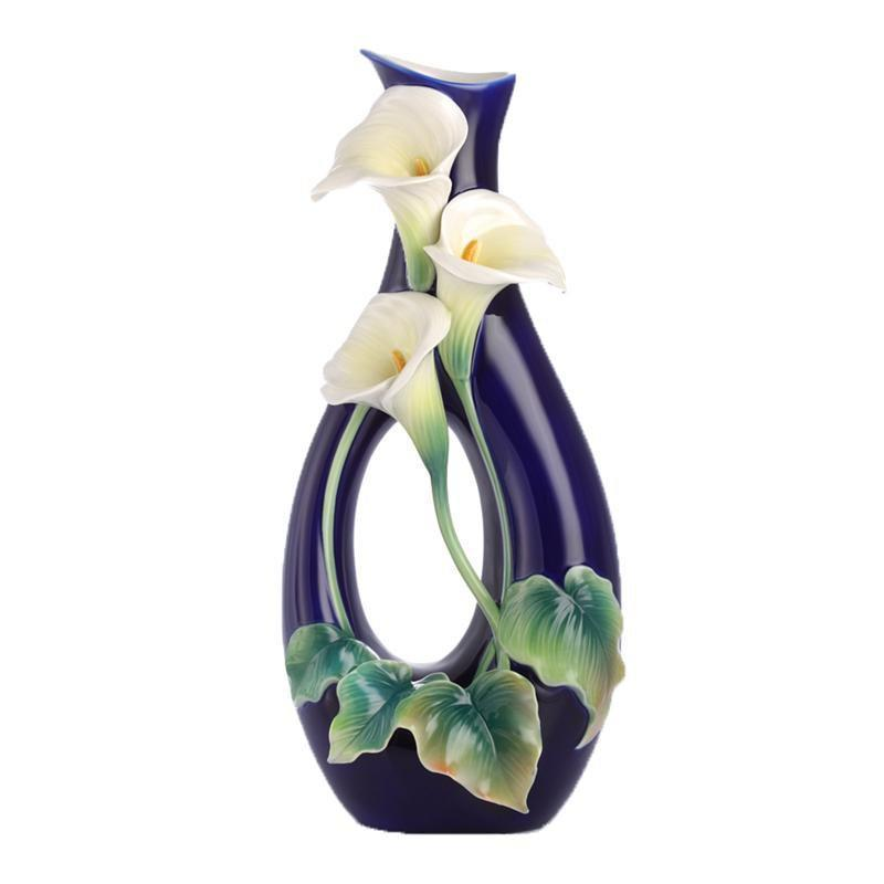 Franz Collection Calla Lily Vase FZ03170